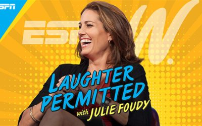 """ESPN Launches """"Laughter Permitted with Julie Foudy"""" Podcast"""