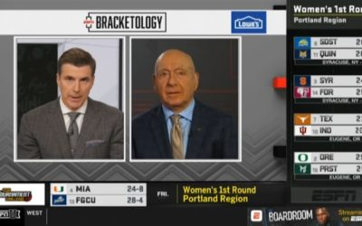 ESPN Mistakenly Revealed the NCAA Women's Basketball Tournament Bracket Too Early