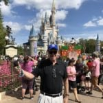 Former Disney CEO Michael Eisner Visits Walt Disney World