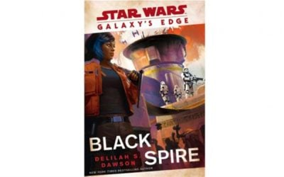 """Galaxy's Edge: Black Spire"" Book Cover Art Unveiled"
