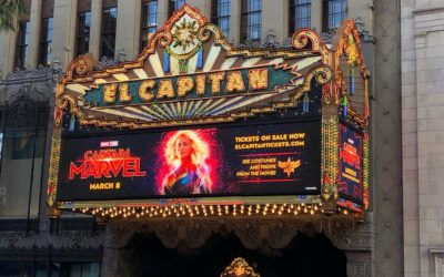 "Hollywood's El Capitan Hosts ""Captain Marvel"" Fans in Opening Night Event"