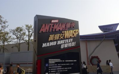 Hong Kong Disneyland Goes Big for Ant-Man and the Wasp: Nano Battle! Opening