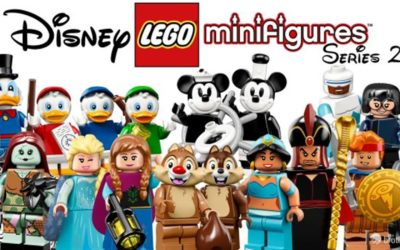 LEGO Disney Collectible Minifigures Series 2 Coming This May