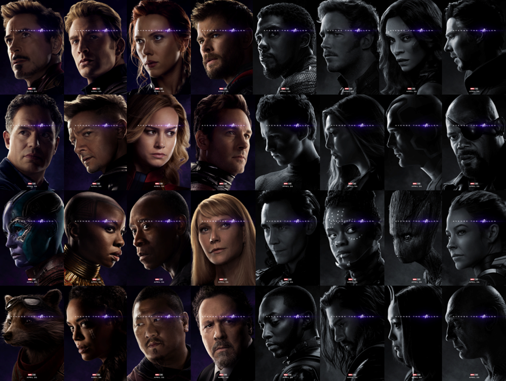 Marvel Movie Posters: Marvel Studios Releases Character Posters For Avengers