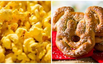 Mouse Madness 6: Opening Round — Popcorn vs. Mickey Pretzel