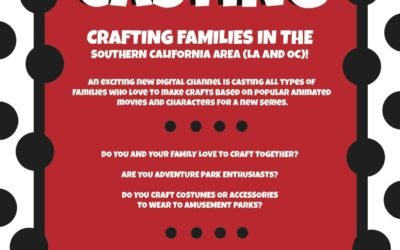 New Family Crafting Show for Digital Channel Now Casting in Southern California