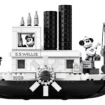 Official Mickey Mouse Steamboat Willie Building Set Revealed by LEGO