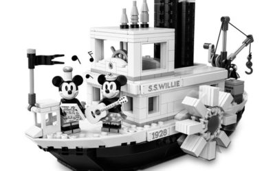Steamboat Willie LEGO Set Designer Signing Event Coming to Disney Springs