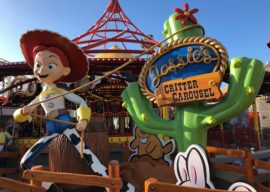 Video: Jessie's Critter Carousel Opens in Pixar Pier at Disney California Adventure