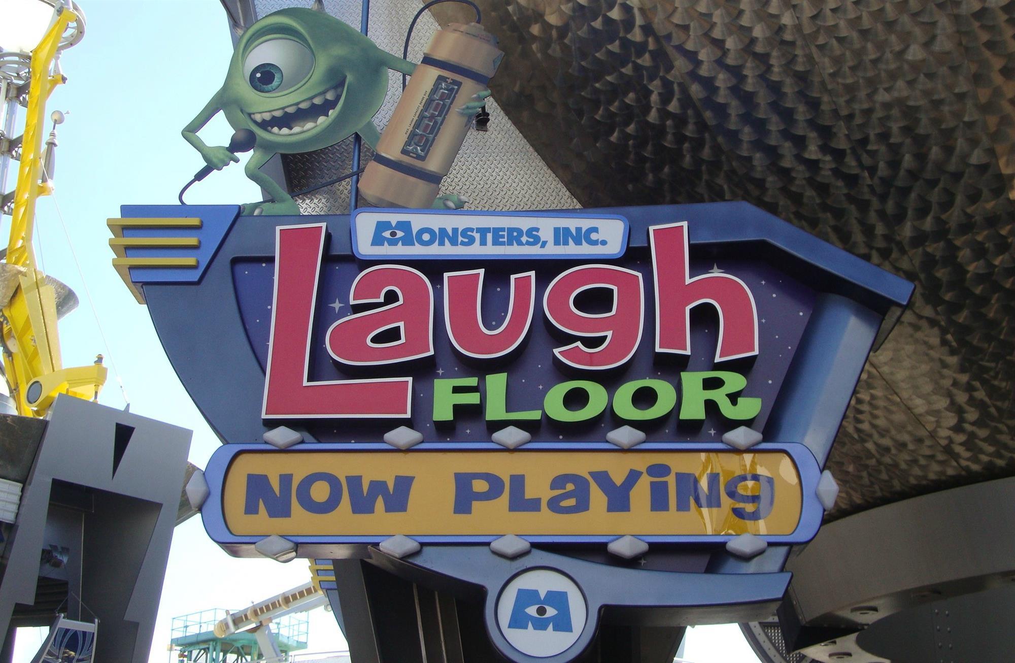 Monsters, Inc. Laugh Floor - Magic