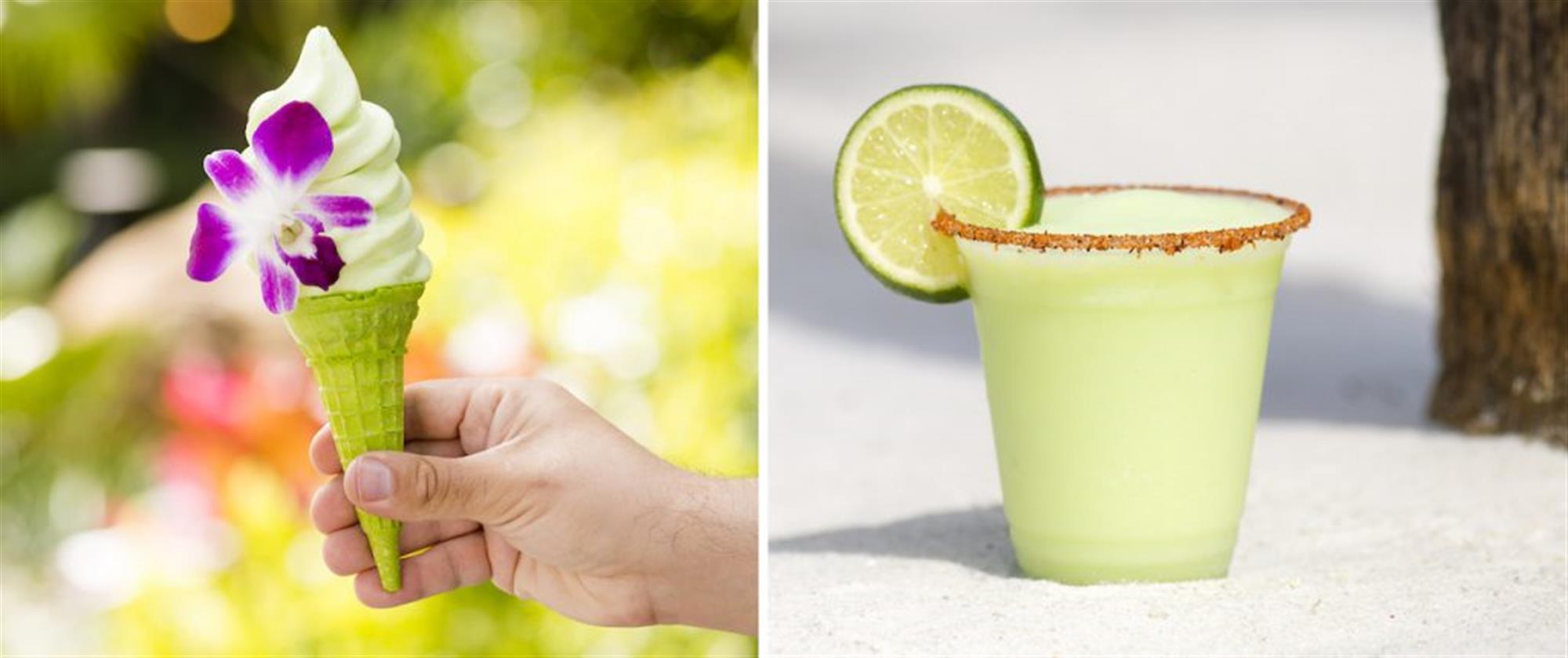 New Lime Offerings at Disney's Polynesian Village Resort