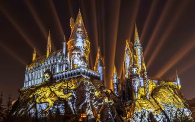 """Dark Arts at Hogwarts Castle"" Projection Show Premieres at Universal Studios Hollywood's Wizarding World of Harry Potter"