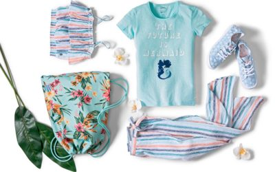 "Disney | Roxy Girl Capsule Collection Celebrates 30th Anniversary of ""The Little Mermaid"""