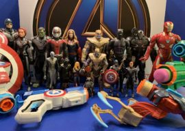 """Toy Review: """"Avengers: Endgame"""" by Hasbro (Marvel Legends, Titan Heroes, Nerf)"""