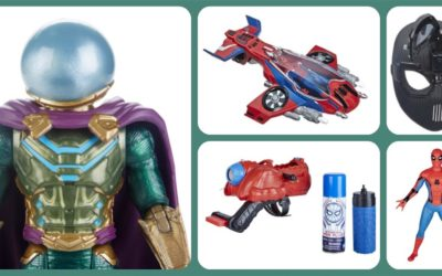 """Hasbro Reveals """"Spider-Man: Far From Home"""" Figures, Toys, and More"""