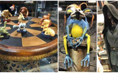 Kowakian Monkey-Lizards, Dejarik Board Game, and More Star Wars: Galaxy's Edge Merchandise on Display at Star Wars Celebration Chicago