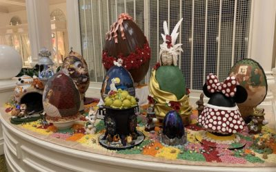 Touring the Disney Easter Egg Display at The Grand Floridian