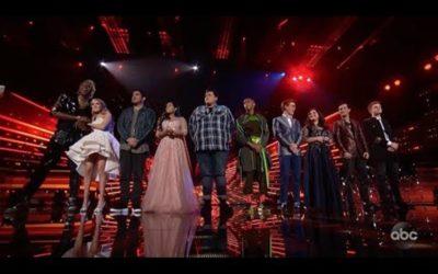 "Watch Last Night's ""American Idol"" Disney Night Performances"