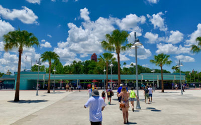 Photos: New Bag Check and Tram Drop Off Open Now At Disney's Hollywood Studios