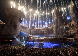 """Bob Iger, George Lucas and """"Star Wars"""" Stars Celebrate the Opening of Star Wars: Galaxy's Edge"""