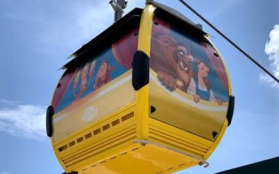 Characters Take to the Sky as Unwrapped Gondolas Appear at Walt Disney World