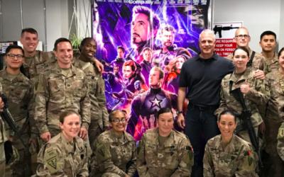 """Disney Brings """"Avengers: Endgame"""" to Troops in Afghanistan Thanks to Air Force Spouse's Tweet"""