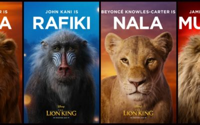"Disney Debuts 11 Gorgeous Character Posters for ""The Lion King"""