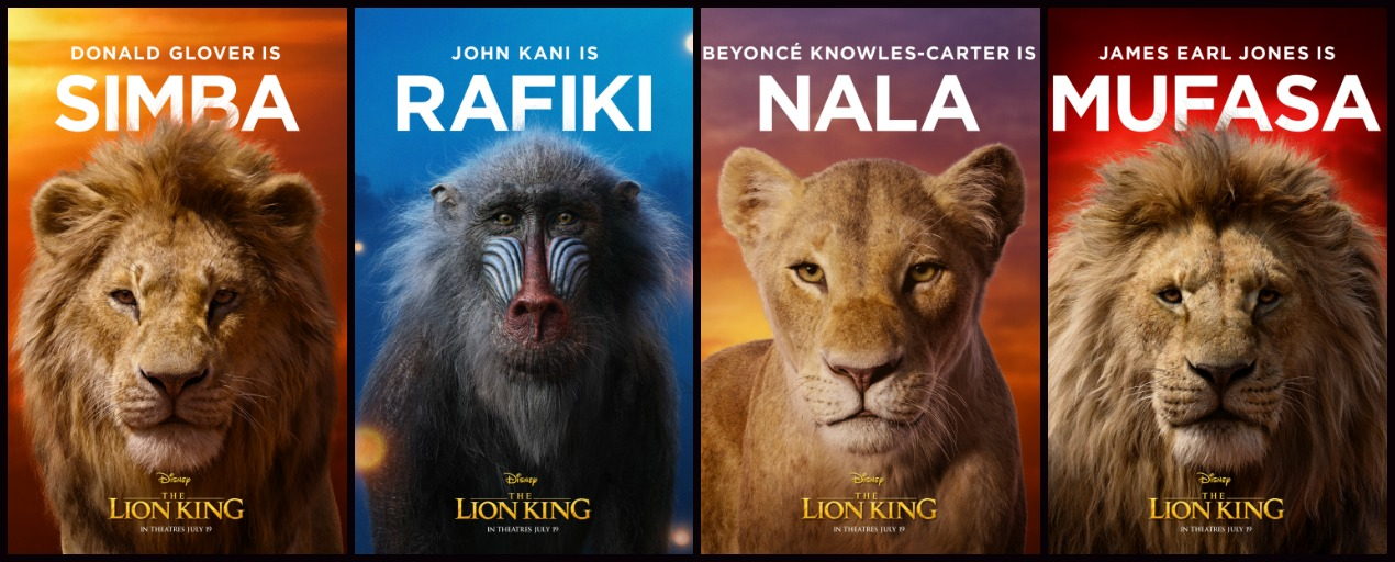 Disney Debuts 11 Gorgeous Character Posters For The Lion King