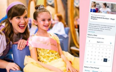 Disney Introduces Online Reservation System for Bibbidi Bobbidi Boutique, Other Experiences