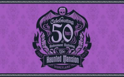 "Disneyland to Celebrate 50 Years of The Haunted Mansion ""Retirement Unliving"" with Special Events"