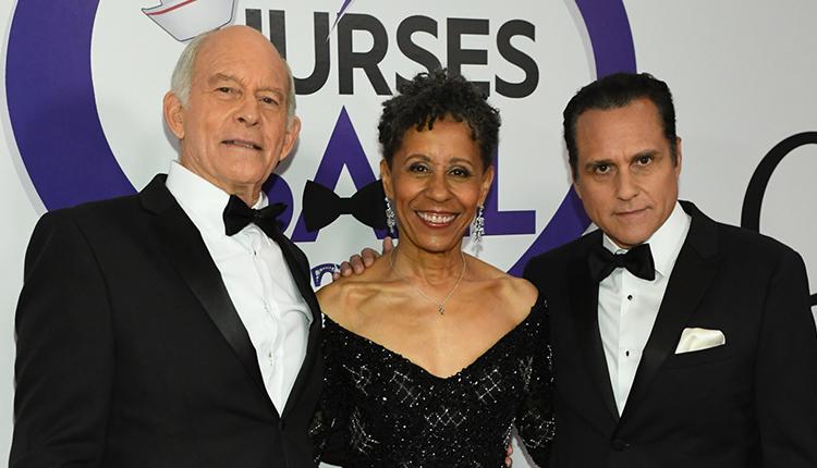 Max Gail, Vernee Watson, Maurice Benard, General Hospital