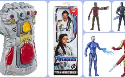 "Hasbro Reveals Second Wave of ""Avengers: Endgame"" Spoiler-Filled Figures and Toys"