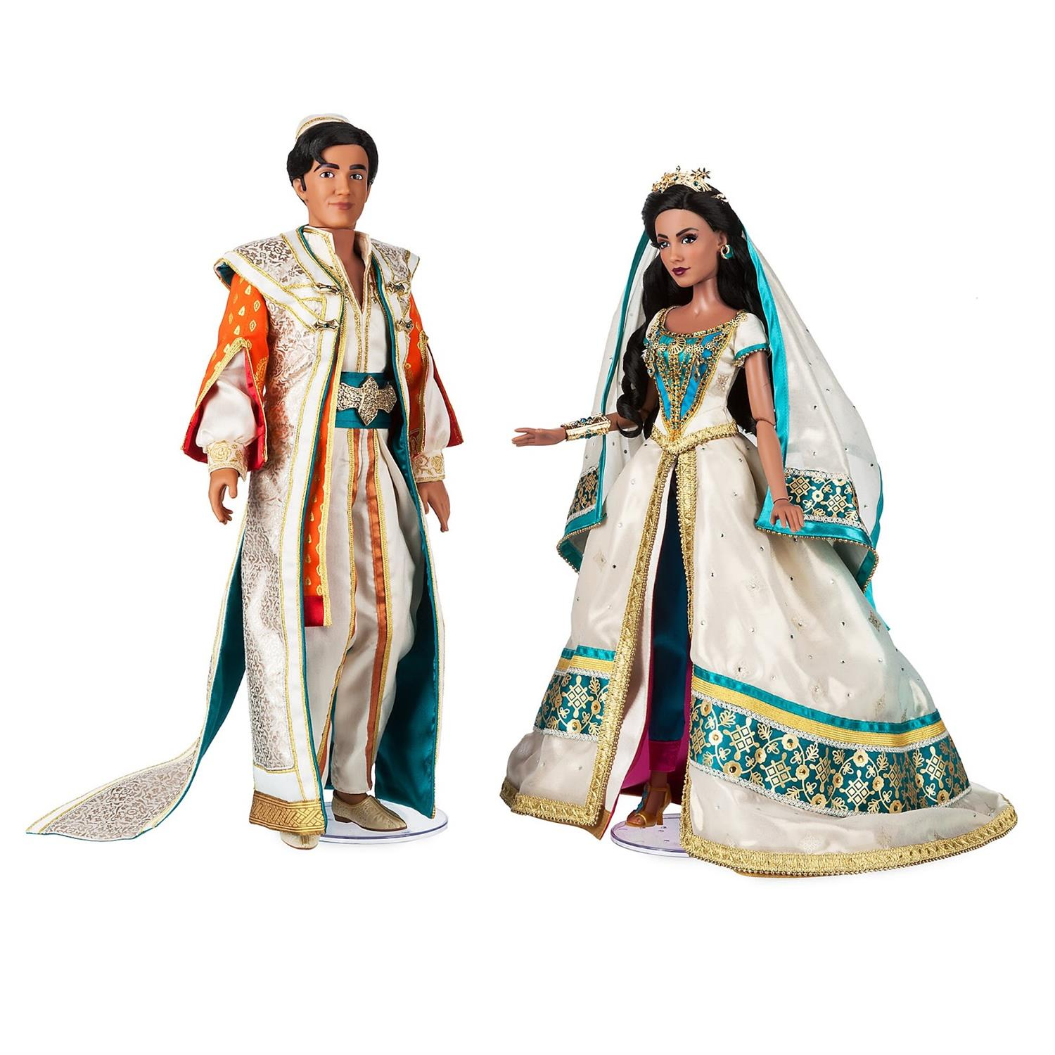 "Disney Wedding Dresses 2019: Limited Edition ""Aladdin"" Dolls Arrive On ShopDisney"