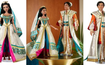 "Limited Edition ""Aladdin"" Dolls Arrive on shopDisney"