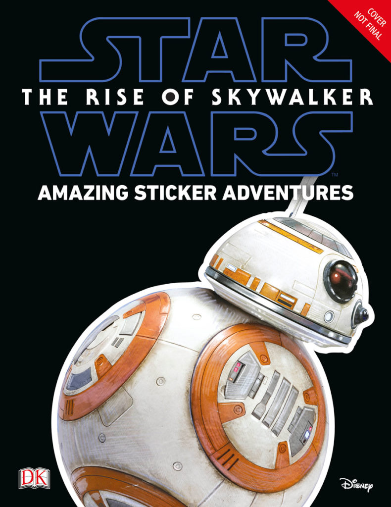 Rise of Skywalker Ultimate Sticker Collection cover