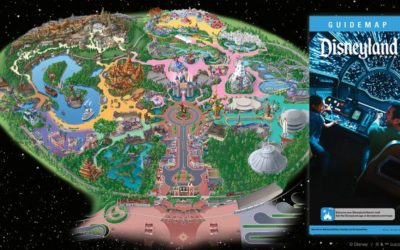 Take a Look at the Star Wars: Galaxy's Edge Guidemap at Disneyland Park