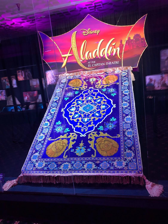 Video Disney S Quot Aladdin Quot Opens At El Capitan Theatre With