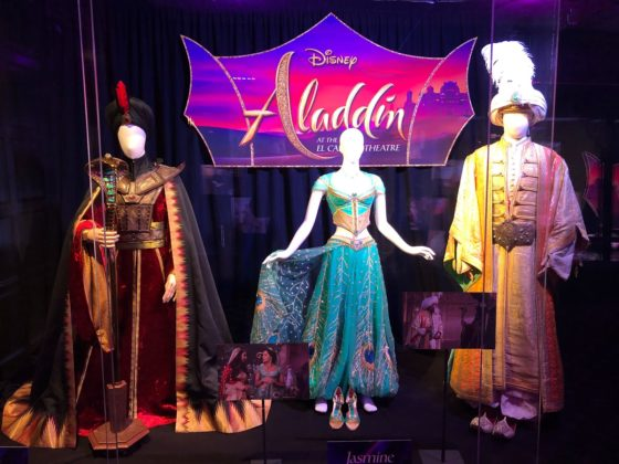 Video Disney S Quot Aladdin Quot Opens At El Capitan Theatre With