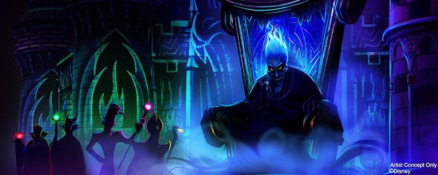 Disney Villains After Hours Attractions And Entertainment Lineup