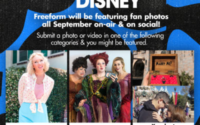 """Freeform to Celebrate """"30 Days of Disney,"""" Invites Fans to Share Disney Photos and Videos"""