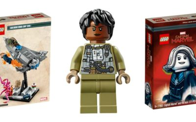 LEGO Previews San Diego Comic Con Exclusive Captain Marvel and the Asis Set