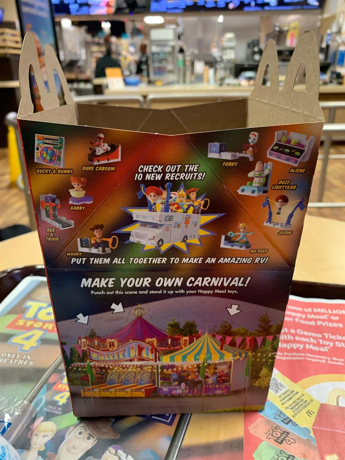 u0026quot toy story 4 u0026quot  mcdonald u0026 39 s happy meals now available