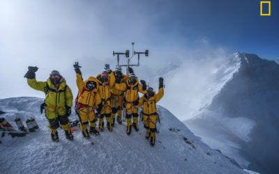 National Geographic Everest Expedition Breaks Record for World's Highest Weather Stations