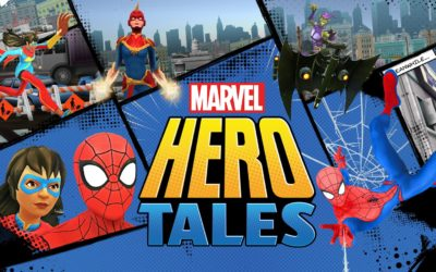 "New ""Marvel Hero Tales"" Educational Storytelling App Available Now"
