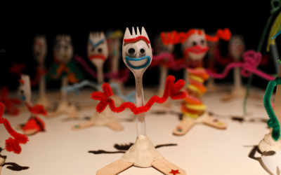Pixar's Trashiest Character - Forky