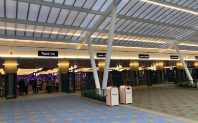 Pixar Pals Tram Loading Area Opens, Fans Try to ID Mystery Character