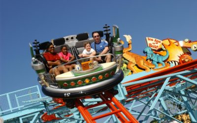 Primeval Whirl at Disney's Animal Kingdom Closed For Extended Downtime