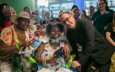 Tim Allen, Tom Hanks Help Kick Off Disney Toy Delivery at Children's Hospitals