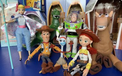 "Toy Review: ""Toy Story 4"" Interactive Talking Action Figures from Disney Store"