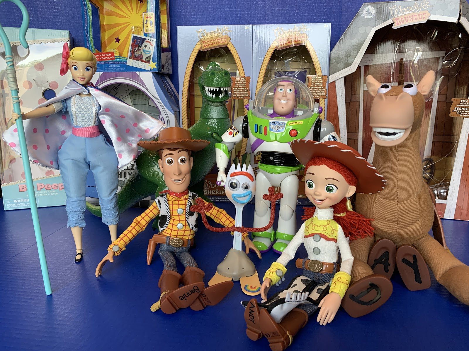 """Toy Review: """"Toy Story 4"""" Interactive Talking Action Figures from Disney  Store - LaughingPlace.com"""